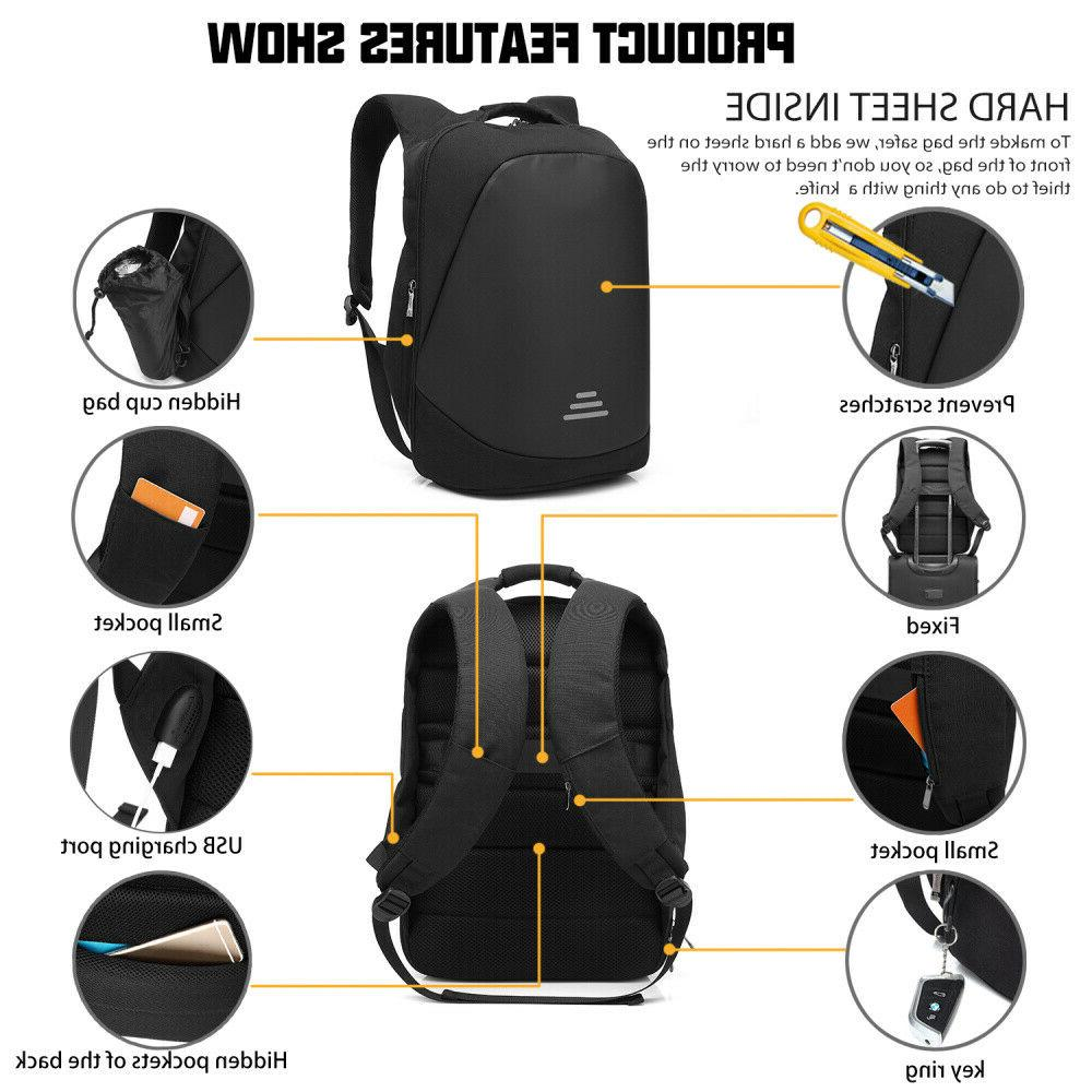 CoolBELL Backpack Anti-theft Code Lock+USB