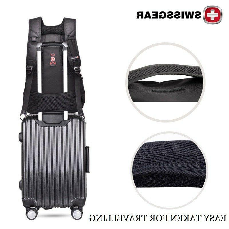 SwissGear Waterproof Laptop Backpack Hiking Bag