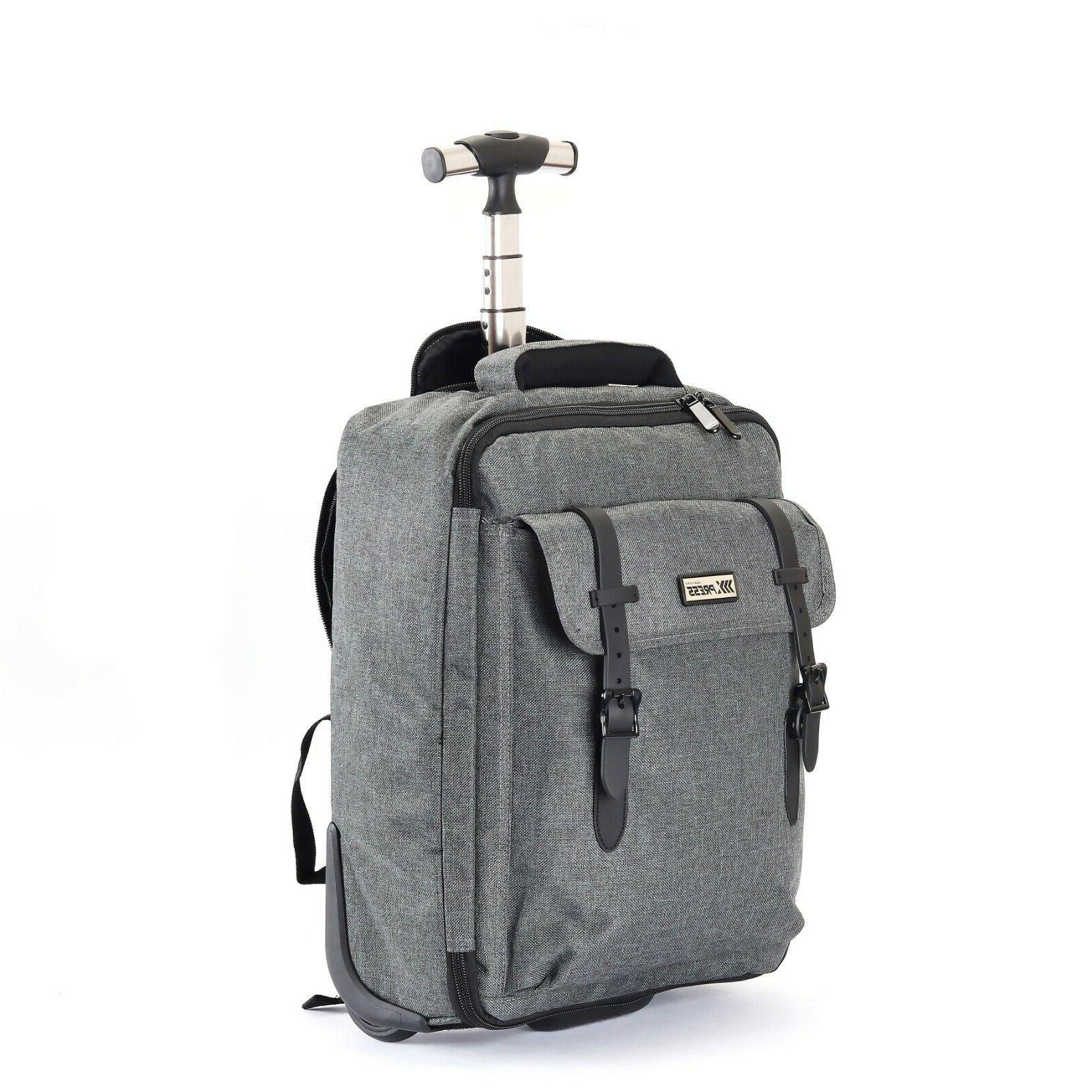 Wheeled Luggage Organizer Bag computer Lightweight