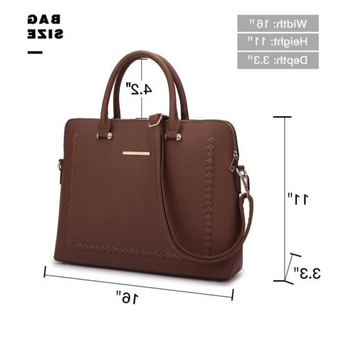Women Handbag Top Work Bag Shoulder Briefcase