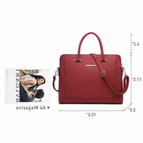 Women Satchel Shoulder Briefcase Tote