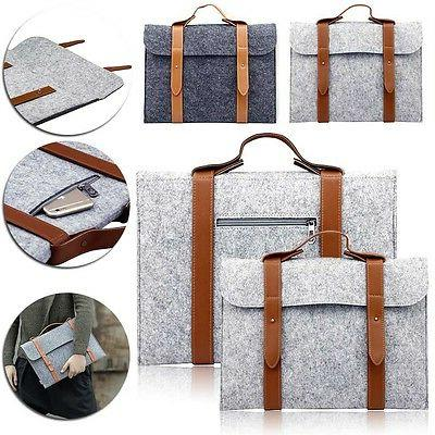 """Woolen Sleeve Case Carry Pouch For 11"""" 13"""""""