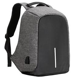 17.3 Inch Laptop Anti Theft Travel Backpack With USB Port, W