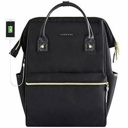 KROSER Laptop Backpack 15.6 Inch Stylish School Computer Bac