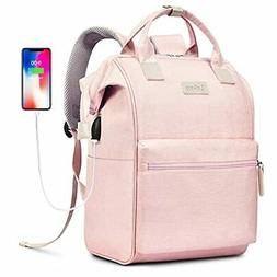 BRINCH Laptop Backpack 17.3 Inch Wide Open Computer Laptop B