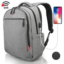Laptop Backpack - Anti Theft Backpack Waterproof Rain Cover