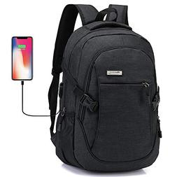 Laptop Backpack, Business Waterproof Travel Backpack with US