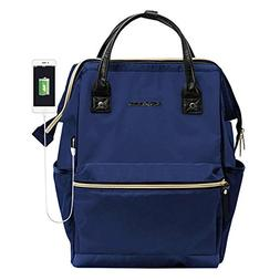KROSER Laptop Backpack 14.1 Inch Laptop Bag Casual Daypack W