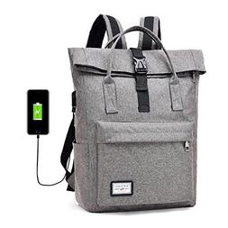 Laptop Outdoor Backpack Bag with USB Charging Port Anti-Thef