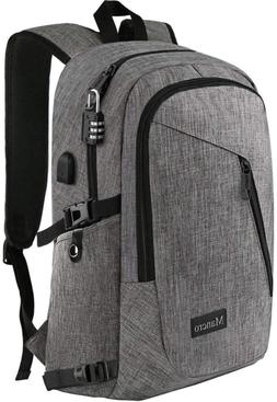 laptop backpack business anti theft travel computer
