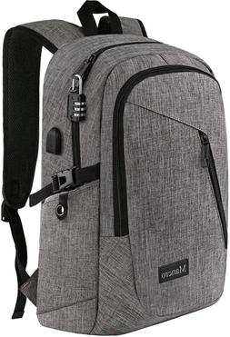 laptop backpack business water resistant laptop bag