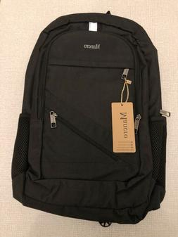 "Laptop Backpack Computer Bag 15.6"" Mancro Anti Theft Travel"