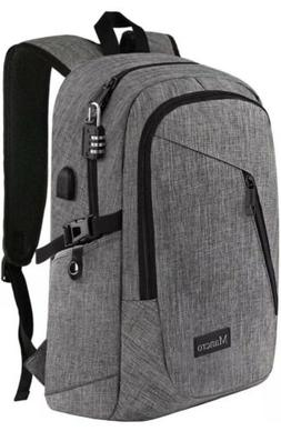 laptop backpack gray