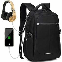 Laptop Backpack Men Women Business Travel Slim 15.6 Computer