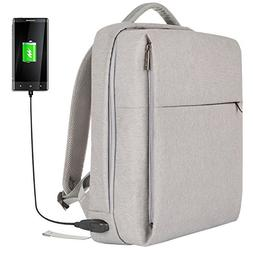 OSOCE Laptop Backpack Slim Business Backpack with USB Chargi