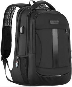 Laptop Backpack, Sosoon Travel w/ USB Charging Port, Anti-Th