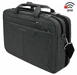 KROSER Laptop Bag 15.6 inch Briefcase Laptop Messenger Bag T
