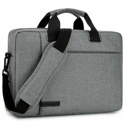 Laptop Bag 15.6 Inch,Brinch Stylish Fabric Laptop Messenger