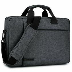 Laptop Bag 17.3 Inch,BRINCH Stylish Fabric Laptop Messenger