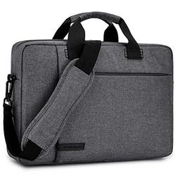Laptop Bag 17.3 Inch BRINCH Stylish Fabric Messenger Shoulde