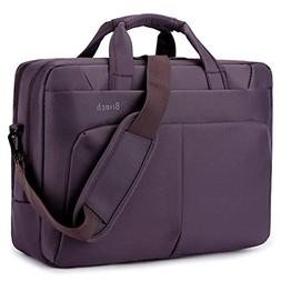BRINCH Laptop Bag 17.3 Inch Water Resistant Nylon Messenger