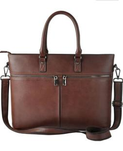 EDODAY Laptop Tote,Business Laptop Bag for Women Up to 15.6