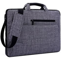 Laptop Bag 14 Inch, BRINCH Multi-functional Suit Fabric Port