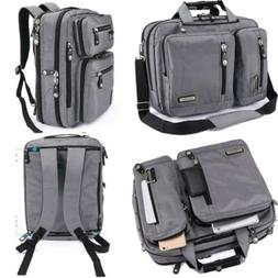 FreeBiz Laptop Bag Convertible Backpack Business Briefcase M