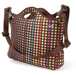 LAPTOP BAG-CASE DOT NO. 7 RAINBOW COLORS ORIGINAL DESIGN by