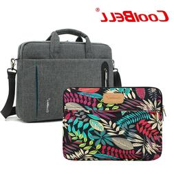 CoolBell Laptop Bag Casual Business Briefcase Shoulder/Hand