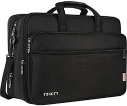 18 Inch Laptop Bag, Extra Large Briefcase for Men Women, Exp