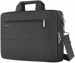 "Mosiso Laptop Bag Messenger Case 15.6"" for Macbook Dell HP T"