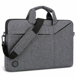 Laptop Bag,BRINCH Slim Water Resistant Laptop Messenger Bag