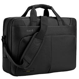 BRINCH Laptop Bag TM 17.3 inch Nylon Waterproof Roomy Stylis