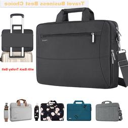 Mosiso Laptop Bag with Belt 13-15.6 16 inch for Macbook HP/