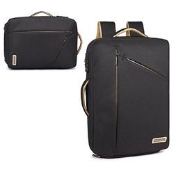 15.6 Inch Laptop Briefcase Backpack Water Resistant Theft Pr