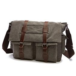 DREAM.ELK Laptop Briefcases 13.3-15.6 Inch Messenger Bag Han