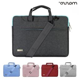 MOSISO® Laptop Canvas Shoulder Bags With Belt For Macbook P