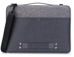 15 Inch Laptop Case, rooCASE 15.6 Inch Leather Laptop Sleeve
