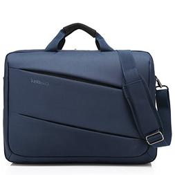 CoolBELL 17.3 inch Laptop Messenger Bag Multi-Functional Bri