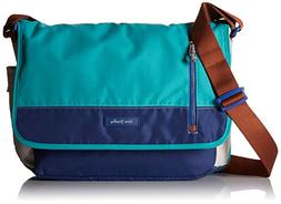 Laptop Messenger Lighten Up Messenger Bag, Cool Lagoon, One