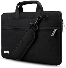 Hseok 3-Way 13.3 Inch Laptop Shoulder Bag Brifecase Water-Re