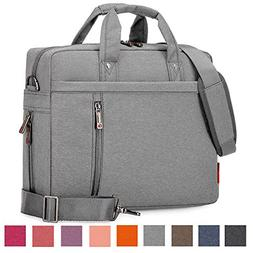 Laptop Shoulder Bag, 13 14 15.6 17 Inch Waterproof Durable E