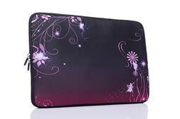 15-15.6 Inch Laptop Sleeve Case Handle Bag Neoprene Cover, C
