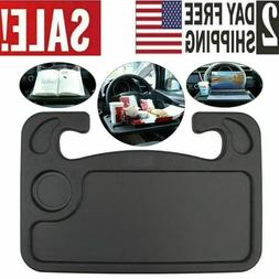 Laptop Steering Wheel Desk Vehicle Auto Mount Tray Stand Hol