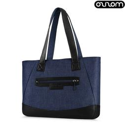 MOSISO Laptop Women Tote Bag 15-15.6 inch Work Travel Should