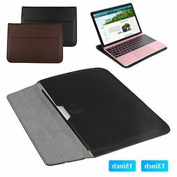 Leather Case For MacBook Air 11 13 Pro 13 15 Retina Slim Lap