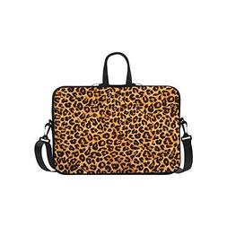 InterestPrint Leopard Animal Print Laptop Sleeve Case Bag, T