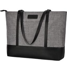 Lightweight Casual Water Resistant Nylon Laptop Tote Shoulde