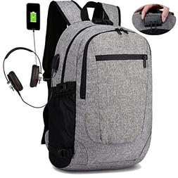 YOUPECK Lightwight Laptop Backpack, Anti-theft Laptop Backpa